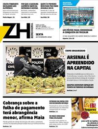 Capa Zero Hora 2018-02-23