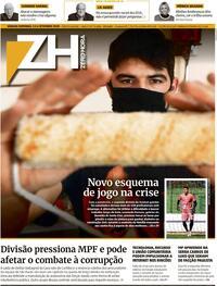 Capa do jornal Zero Hora 05/09/2020