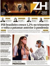 Capa do jornal Zero Hora 02/06/2021