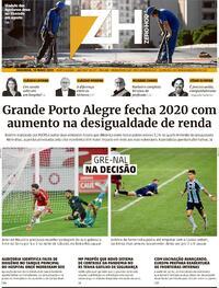Capa do jornal Zero Hora 10/05/2021